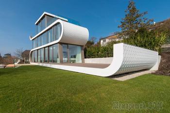 Вилла Flexhouse в Цюрихе