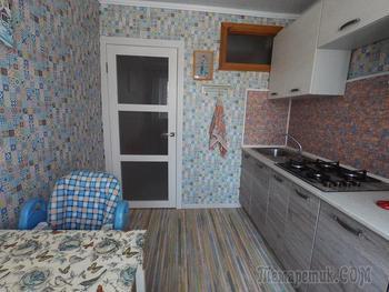 Ремонт в 34-метровой квартире для семьи с малышом