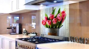 Оформление рабочей зоны на кухне
