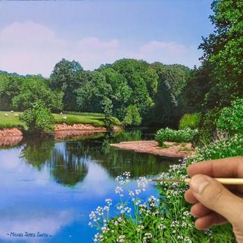 Гиперреалистичные пейзажи Майкла Джеймса Смита, которые можно запросто принять за фотографии
