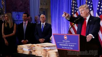 Трамп начал торговлю с Россией
