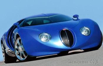 10 знаменитых автомобилей, которые могли выглядеть совершенно иначе