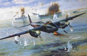 Боевой «Москито»: как Англия «сделала» Люфтваффе деревянным бомбардировщиком