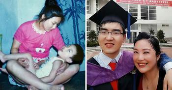 Мать-одиночка отказалась бросить сына-инвалида, и теперь он студент Гарварда