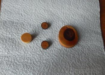 Покраска деревянных изделий или заготовок