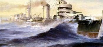 История советского суперэсминца «Минск», которому так и не удалось сойтись в бою с другими флагманами