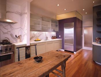 Отделка стен в кухне – выбираем оптимальный вариант
