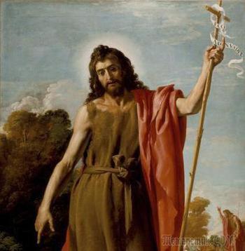 Пророк и креститель Иван Предтеча