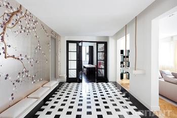 Аккумуляции света в парижской квартире от дизайнера Софи Пети
