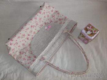 Раскрой и пошив текстильной сумки