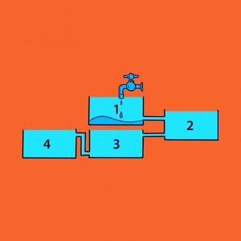 Новое слово в головоломках: непростая задачка про баки и трубы