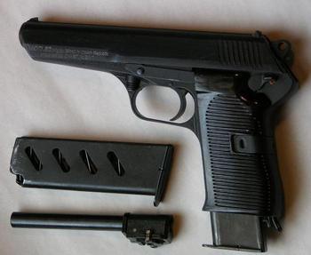 """Пистолет """"Чезет"""", характеристики и фото """"чешского чуда"""""""