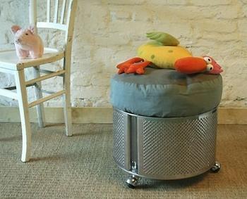 Пятнадцать фантастических идей использования старой стиральной машины