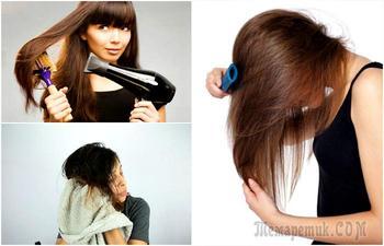 Вредные привычки, которые делают волосы слабыми и ломкими