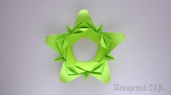 Цветы из бумаги своими руками 🍀 оригами легко и быстро
