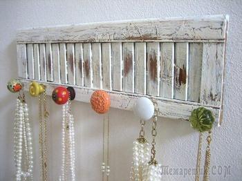 Идеи по использованию старых дверных ручек в интерьере