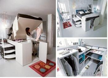 Идеи, как и где можно сделать скрытую комнату и оборудовать в ней «тайник»
