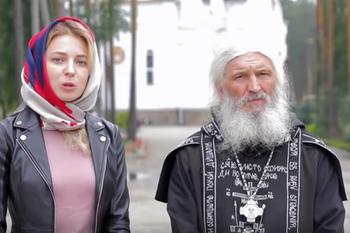 """Духовник Поклонской призвал протестующих ходить не на митинги, а в храм, где есть """"все средства для улучшения жизни"""""""