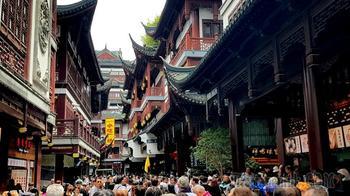 Китай 2018. 07. Шанхай. Старый город