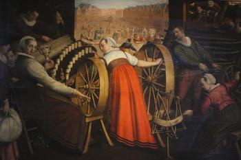 История ткани. Искусство ткачества как всё начиналось. Часть 1.