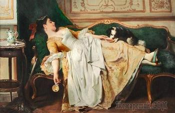 Как спали аристократы в XVIII веке: Шкаф вместо кровати, ларец-подушка и другие странности