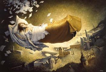 Провидческие сны великих людей. Лермонтов, Марк Твен, Роберт Льюис