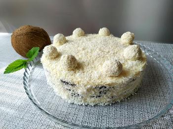 Шикарный торт «Дуэт» (не нужно выпекать)