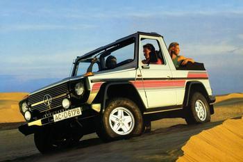 Бестселлеры рынка: Mercedes-Benz G-Klasse (1979 г. — н.д.). Серьёзная машина