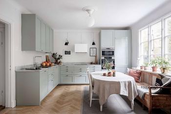 Прекрасная скандинавская квартира с загородным настроением в Гетеборге