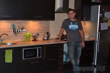 Кухня к приезду жены из командировки. Денис Волокитин