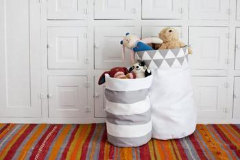 Корзина для хранения игрушек своими руками
