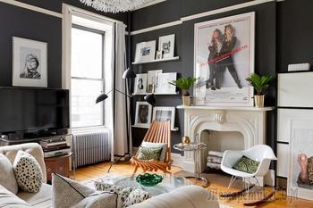 Стильный настенный декор: как правильно оформить картины, постеры и гравюры