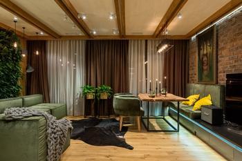 Квартира для молодого мужчины в Киеве (81 кв. м)