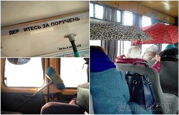 17 жизненных снимков, демонстрирующих всю суровость общественного транспорта и его пассажиров