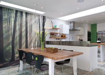 Расширить пространство маленькой квартиры: варианты использования фотообоев