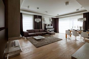 Двухэтажная квартира в центре Варшавы