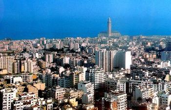 Марокко. Касабланка - мегаполис №1 страны.