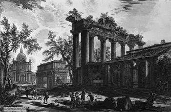 Абсурдный мир любимого художника Екатерины II: Виды Рима и воображаемые тюрьмы Пиранези