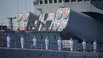 Военные атташе из более чем 30 стран оценили организацию морского парада в Петербурге
