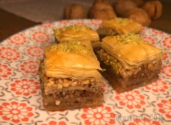 Простой рецепт турецкой пахлавы, которую сможет приготовить каждый