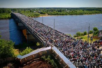 Крестный ход на реку Великую (Записки и фотографии очевидца)