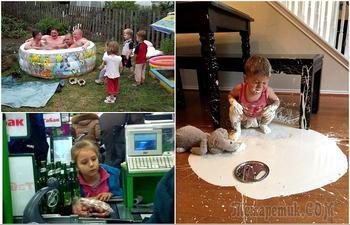 Убойные снимки из нескучной детской жизни