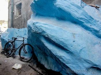 23 фотографии с цветом индиго