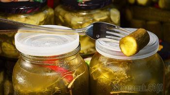 Огурцы на зиму за 5 мин. Бабушкин рецепт без уксуса, под капроновой крышкой