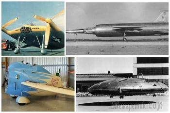 Самые странные самолеты за всю историю авиации