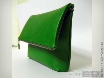 Шьем сумку-клатч из кожи