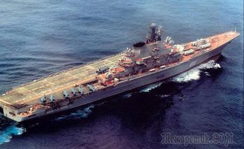 Прошлое, настоящее и будущее российских авианосцев
