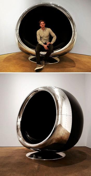 Креативная мебель из самолетных деталей