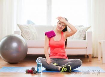 Эффективная тренировка для девушек дома