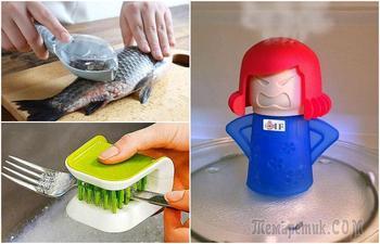 На страже чистоты: 17 практичных вещиц, которые помогут привести кухню к идеалу